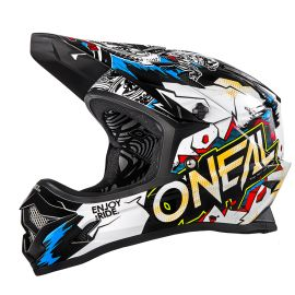 Casco Integrale MTB O`Neal Backflip RL2 Youth Evo Helmet VILLAIN white