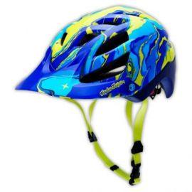 Casco Troy Lee Designs A1 Helmet Galaxy Matte Blue
