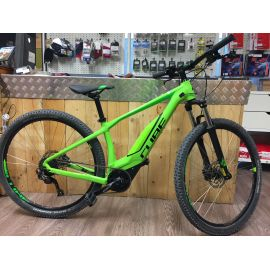"e-mtb Cube Acid Hybrid ONE 500 29 Green/Black tg. M 17"" Usato 423"