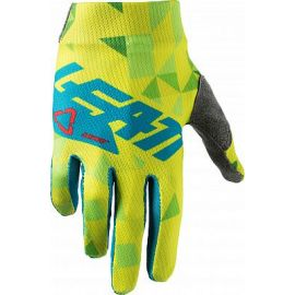 Guanti Leatt GPX 1.5 Junior Colore Lime/Teal