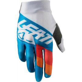 Guanti Leatt GPX 3.5 Junior Colore Blue/White
