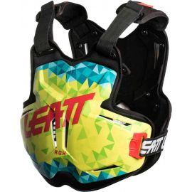 Pettorina Leatt Chest Protector 2.5 ROX Lime/Teal