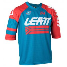Jersey Leatt S/S DBX 3.0 Colore Fuel/Red