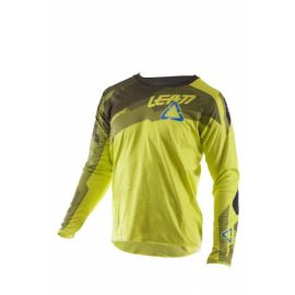 Jersey Leatt L/S DBX 5.0 ALLMTN Colore Lime