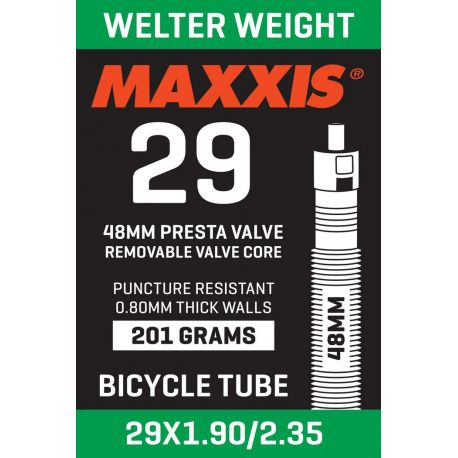 Camera d'aria MTB Maxxis 29x1.90/2.35 Welter Weight Valvola Presta 48 mm