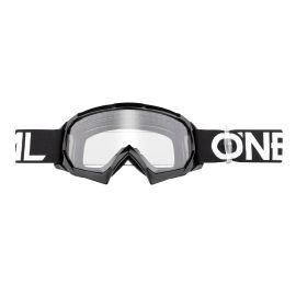 Maschera ONeal B-10 Youth Goggle Solid Black/White