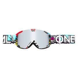 Maschera ONeal B-30 Youth Goggle Crank Multi - Lente Silver
