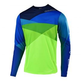 Jersey LS Troy Lee Designs Sprint JET Yellow/Green