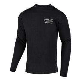 T-Shirt M/L TROY LEE DESIGNS FLOWLINE Classic Shocker Colore Black
