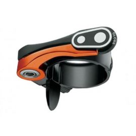 Chiusura Sella Crank Brother QR 31,8 Nero - Arancio