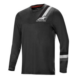 Jersey LS Alpinestars Alps 4 Black/Dark Gray 2019