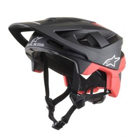 Casco Alpinestars Vector Pro Atom Black/Red