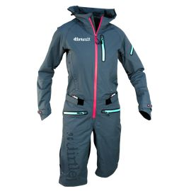 Antipioggia DirtLej Dirtsuit Pro Ladies Azure Blue/Peach 2019