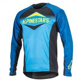 Jersey Alpinestars Mesa L/S Royal Blue/Bright Blue
