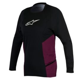 Jersey Alpinestars Stella Drop L/S Girl Black/Plumb 2019