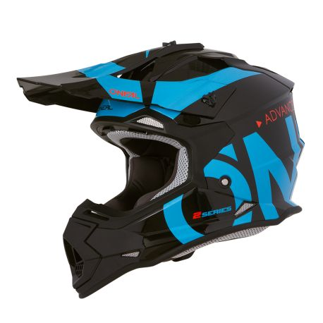 Casco Integrale ONeal 2SRS Helmet SLICK black/blue