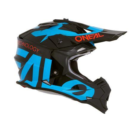 Casco Integrale ONeal 2SRS Helmet SLICK black/blue