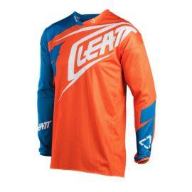Jersey M/L Leatt GPX 4.5 X-Flow Orange/Denim