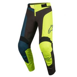 Pantaloni Lunghi Alpinestars Youth Vector Pants Black/Acid Yellow 2019