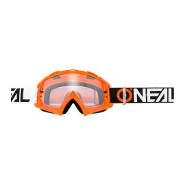Maschera ONeal B-10 Twoface Orange Lente Clear