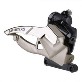Deragliatore Anteriore SRAM X0 Foro Diretto con Scanalatura 2x10V.