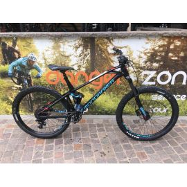 MTB Mondraker FOXY 27.5 Black/Light Blue/Flame Red tg. Large 2019 - M16L Usato