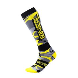 Calze ONeal Pro MX HUNTER Black/Gray/Neon Yellow