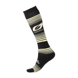 Calze ONeal Pro MX STRIPES Black/Yellow