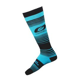Calze ONeal Pro MX STRIPES Teal/Black