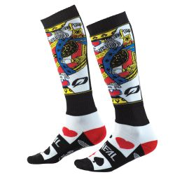 Calze ONeal Pro MX KINGSMEN White/Black/Red