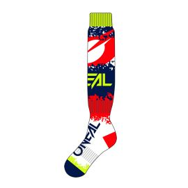 Calze ONeal Pro MX REVIT Red/Blue