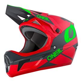 Casco ONeal Sonus Helmet DEFT Red/Gray/Green