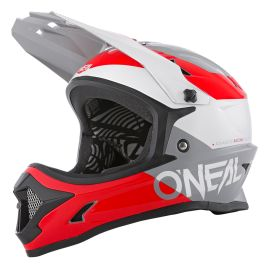 Casco ONeal Backflip Bungarra 2.0 Red/Gray/White