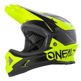 Casco ONeal Backflip Bungarra 2.0 Black/Neon Yellow