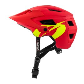 Casco Open Face MTB ONeal Defender SOLID Red