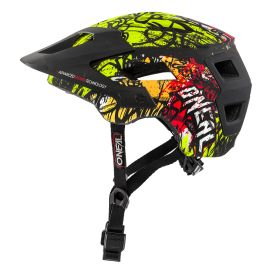 Casco Open Face MTB ONeal Defender VANDAL Orange/Neon Yellow