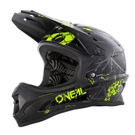 Casco Integrale ONeal BackFlip ZOMBIE Black/Neon Yellow