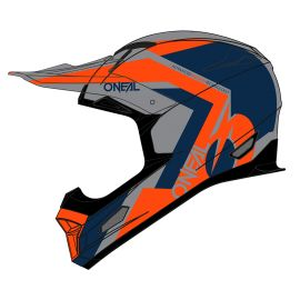 Casco Integrale ONeal Fury Hybrid Blue/Orange