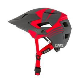 Casco Open Face MTB ONeal Defender NOVA Gray/Red