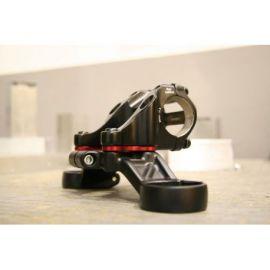 Distanziali Attacco Manubrio Direct Mount Stem Spacer 4mm NSBDM0002-R Red