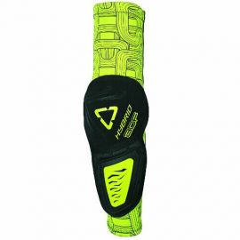 Gomitiere Leatt 3DF HYBRID Black/Lime