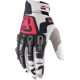 Guanti Leatt GPX 4.5 Lite White/Red/Black