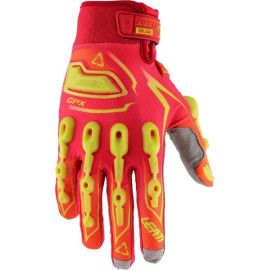 Guanti Leatt GPX 5.5 Lite Red/Yellow