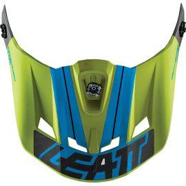 Visiera Per Caschi Leatt DBX 5.0 V12 Lime/Blue