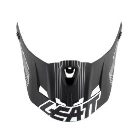 Visiera Per Caschi Leatt DBX 6.0 CARB V08 Carbon/White/Red