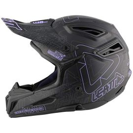 Casco Integrale Leatt DBX 5.0 VF10 Black/Purple/Gray