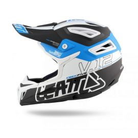 Casco Integrale Leatt DBX 5.0 V12 Black/Blue/White