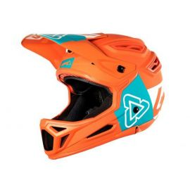 Casco Integrale Leatt DBX 5.0 V29 Orange/Teal