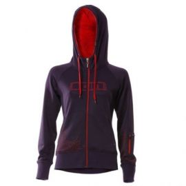 Felpa ION Bike Hoody Velvet Girl Grape