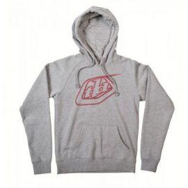 Felpa Troy Lee Designs Logo Girls Grey